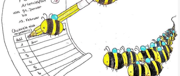 Rettet die Bienen! Volksbegehren Artenvielfalt 31.01.-13.02.2019